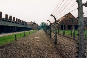 Camp de Concentration d'Auschwitz. (photo : Patrick Giraud. sources : wikipedia)